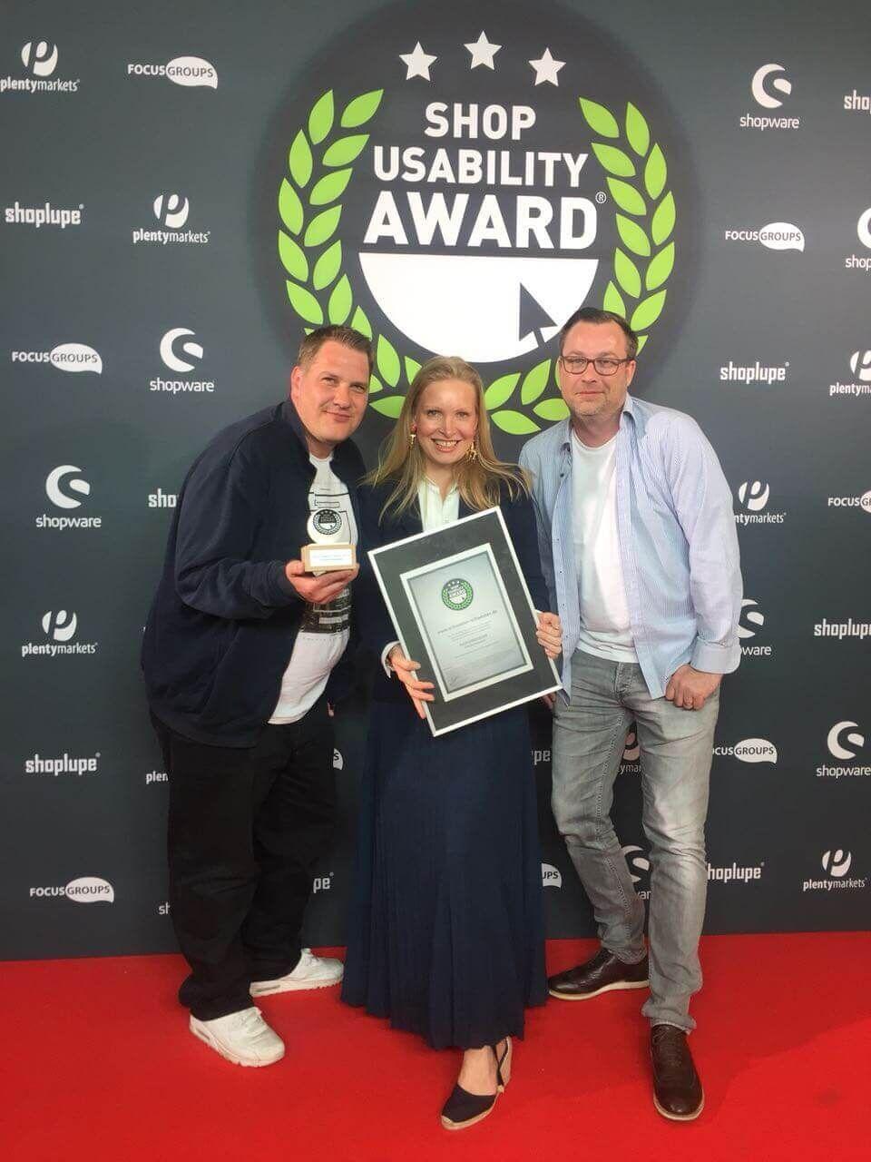 Shop Usability Award 2018