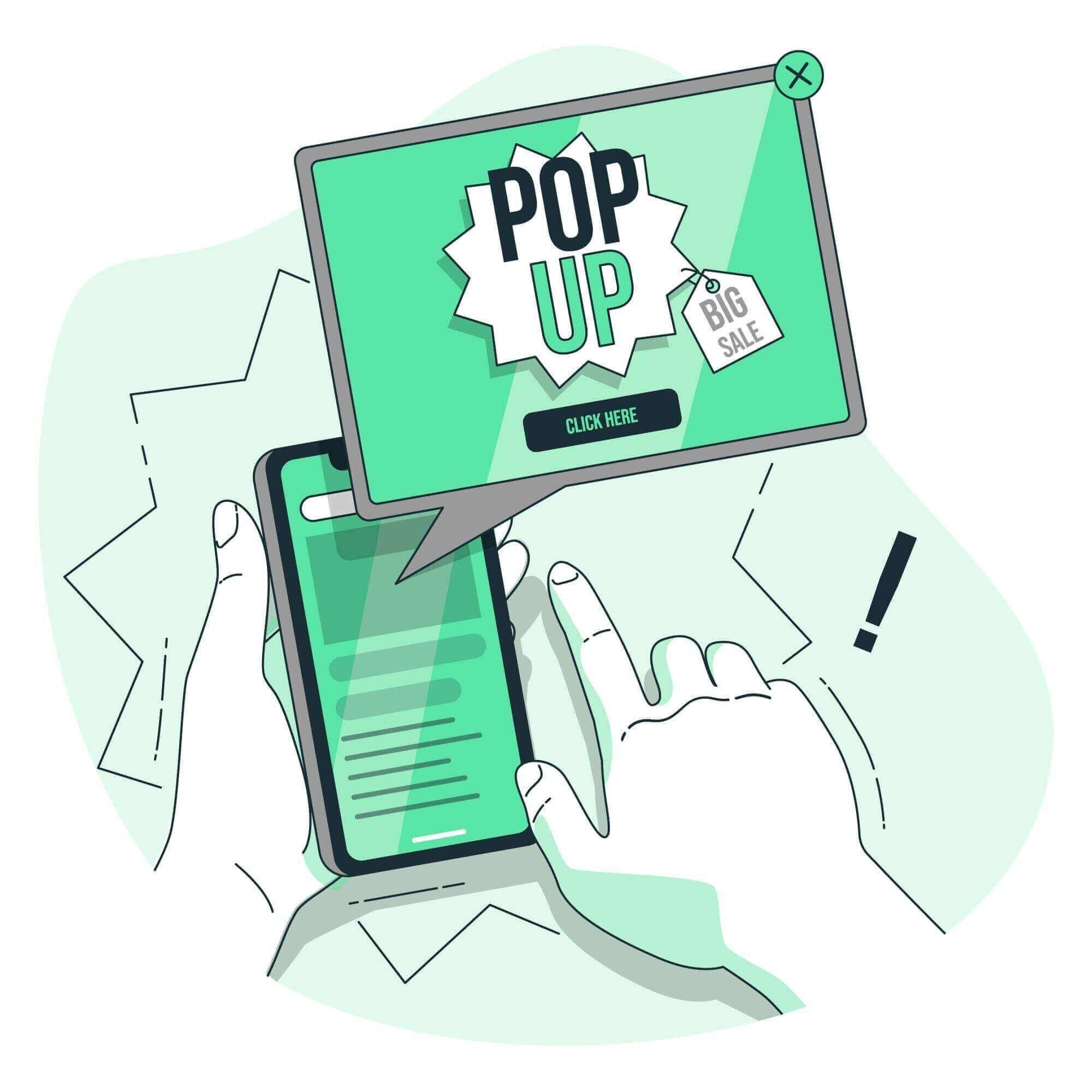 Conversion Pop-Up´s